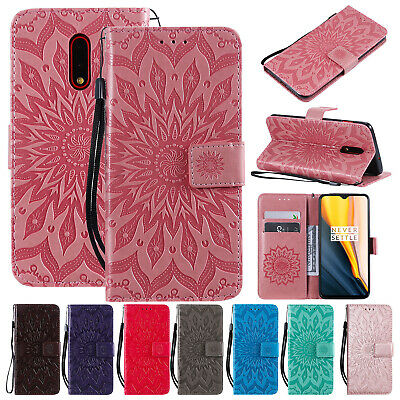 For OnePlus 7 Pro Cover 6T 6 5T 5 Luxury Magnetic Leather Flip Stand Wallet Case