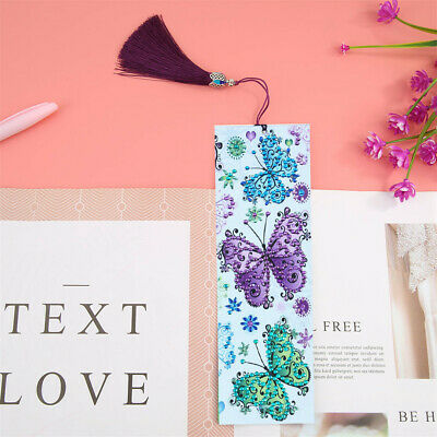 Leather Bookmark Tassel Book Marks DIY Funny Special Shaped Diamond Painting