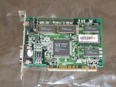 Expert Color S3 Trio64V+ 86C765 PCI VGA video card vintage 1995