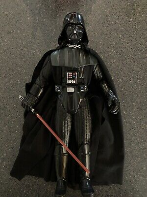 Darth Vader, 12 Inch 1997 Figure, Removable Helmet And Hand.