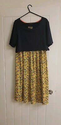 Frugi maternity Nursing Dress Size M 12/14