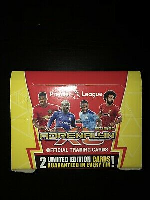 panini adrenalyn xl premier league 2019/20    10 X Tins 19/20 Brand New Sealed