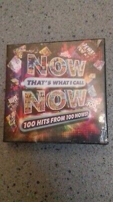 Now Thats What I Call Now 100 Hits From 100 Nows Brand New And Sealed 1907597388