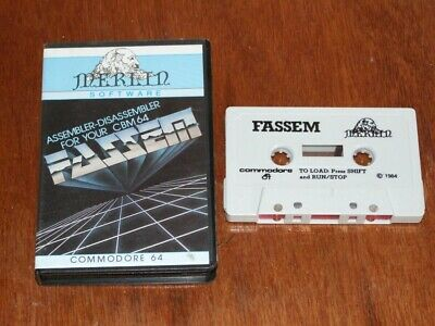 Fassem Editor Assembler by Merlin Software for Commodore 64 C64
