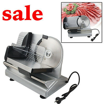 """Commercial Steel Cheese Cutter Electric Meat Slicer w/ 7.5"""" Blade for Restaurant"""