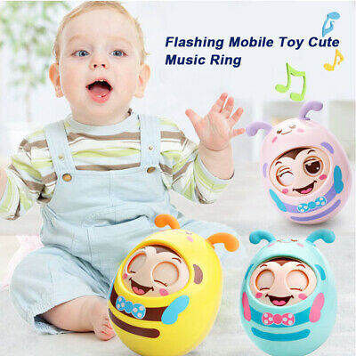 Teether Musical Bell Infant Funny Baby Rattle Mobile Toys Gift Cute Cartoon