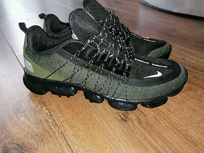 Mens Nike AIR VAPORMAX RUN UTILITY In army green size 9 UK
