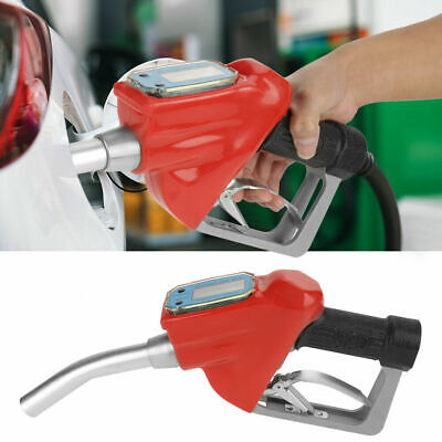 Replacement Digital Durable Oil Dispensing Petrol Fueling Nozzle With Flow Meter