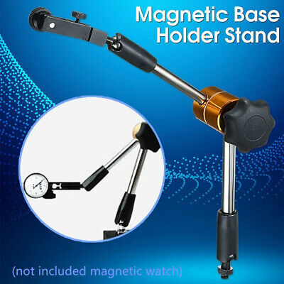 Gauge Tool Universal Holder Dial Test Indicator Strong Metal Stand Magnetic Base