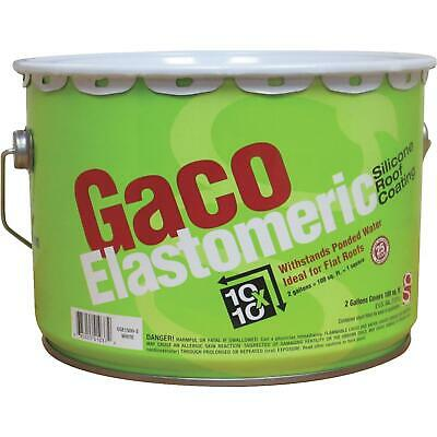 Gaco Western Elastomeric Silicone Roof Coating