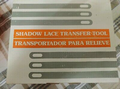 Shadow Lace Transfer Tool for Knitting Machines