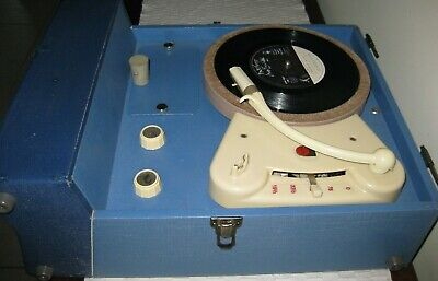 Philips portable record player