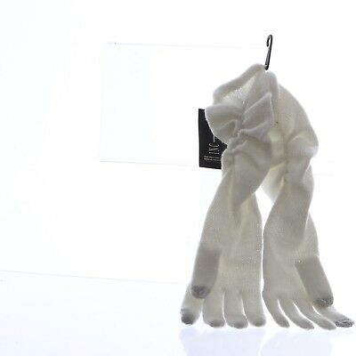INC Ruched Long Gloves One Size Ivory