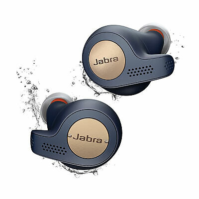 Jabra Elite Active 65t Blue True Wireless Earbuds (Manufacturer Refurbished)