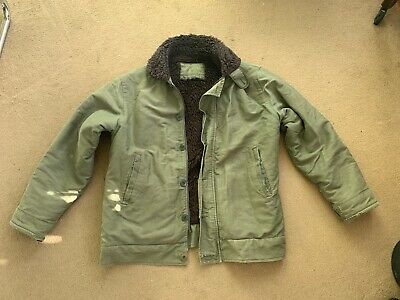 Coulange Mayenne French Deck Jacket, Green - medium, with detachable hood
