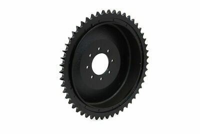 Rear Brake Drum Black for Harley Davidson by V-Twin