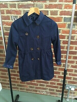 Navy Blue Girls Coat By George Age 12-13