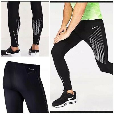 Nike Herren M Nk Power Flash Run Tight Gx Lauftights: Amazon