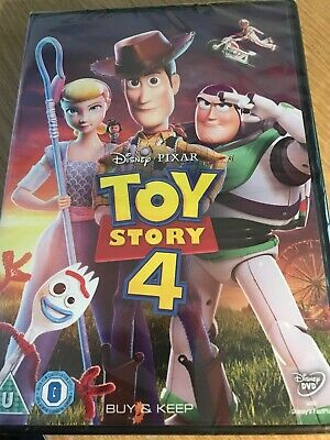 Toy Story 4 DVD NEW & SEALED