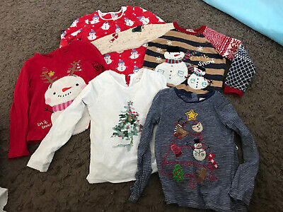 Girls Christmas Clothing Bundle 5-6 Years Next Boots Dress Jumper Top