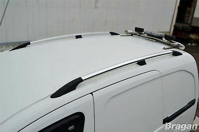 To Fit 02-14 Ford Transit Tourneo Connect LWB Metal Roof Rails Rack + Cross Bars