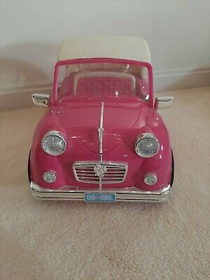 Our generation Pink Dolls Car