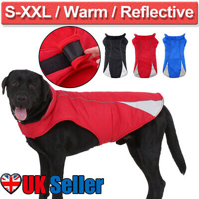 Pet Dog Winter Coat Waterproof Clothes Rain Snow Jacket