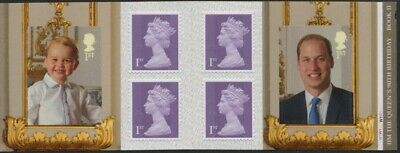 GB:2016:HM The Queen's 90th Birthday Book II- W1.Booklet.6x1st