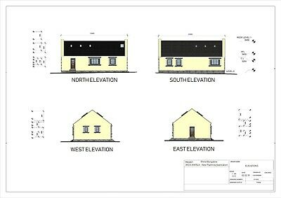 0.10 Acre - Corner Land Plot - Full Planning Permission - 3 Bedrooms House