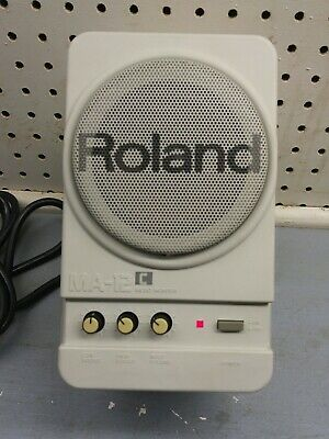 Roland Ma-12c Powered Micro Monitor Speaker Music Mixing or Gaming GREAT!