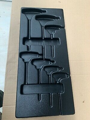 Plastic Tool Tray Case Tidy For T Handle Allen Key Hex Torx