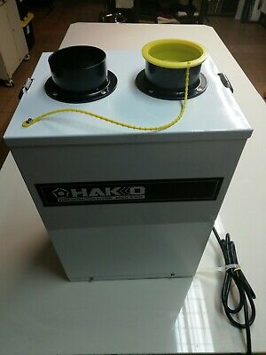 Hakko Soldering Fume Extraction Systems, Model HJ3100