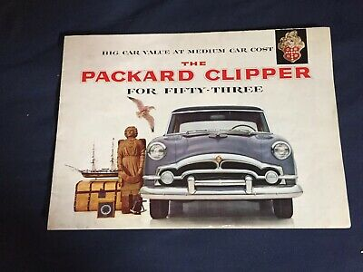 ★★1954 PACKARD CARIBBEAN CONVERTIBLE SPEC SHEET BROCHURE POSTER PRINT PHOTO 54★★