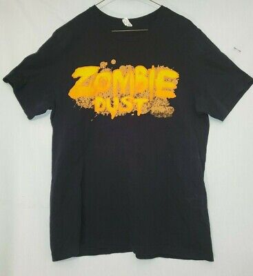 3 Three Floyds Brewing Co Zombie Dust Black Tee T Shirt X-Large  2-SIDED