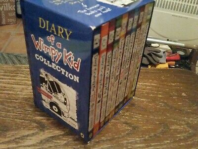 Diary of a Wimpy Kid books box set