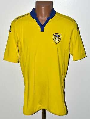 Leeds United England 2015/2016 Away Football Shirt Jersey Kappa Size Xl Adult