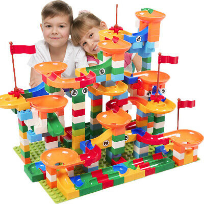Circuit Bille Educatif Bloc de Construction Compatible Lego Duplo Jouet Blocks$$