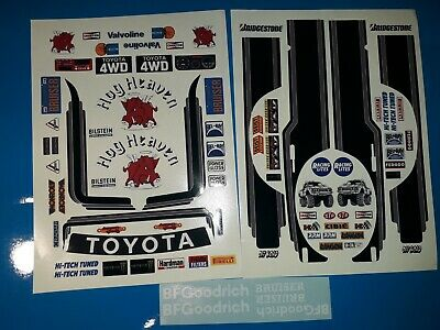SPOT LIGHTS VARIOUS DASHBOARDS CUSTOM LOGOS ETC RC 1//10th TAMIYA HPI LOSI DECALS