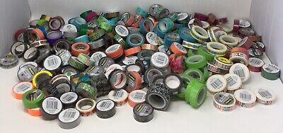 Washi Tape Over 200+ Rolls New Various Size Pattern Scotch Brand And Others NEW