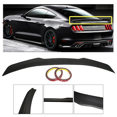 """Ford Mustang 2015 Fits Lip Mount /""""Racing Style/"""" Rear Spoiler Primer Finish"""