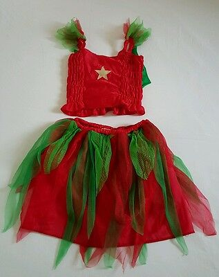 Girls Christmas Outfit One Size