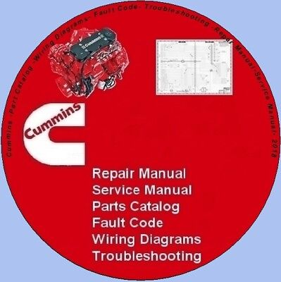 Cummins Manual-Parts-Wiring-Fault Code-Troubleshooting-Repair-2020-fast download
