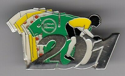 Rare Pins Pin's .. Velo Cyclisme Cycling Tour De France 2001 Affiche Maillot ~Ep