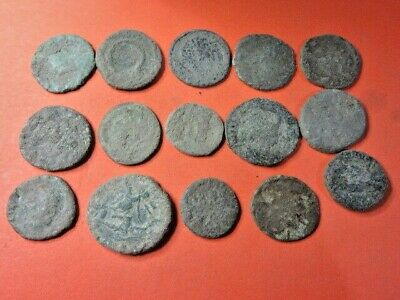 Ancient Roman Coins Uncleaned & Extra Coins Lot 3