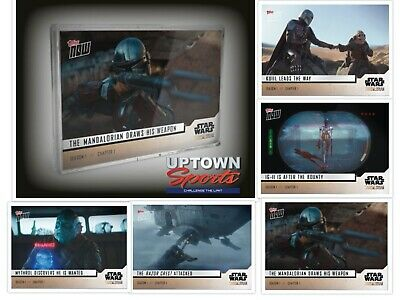 🚀 🛸  Star Wars: The Mandalorian TOPPS NOW® 5-Card Pack - S1:Chapter 1 🚀 🛸