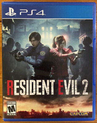 Capcom Resident Evil 2 for PlayStation 4 PS4 PS4PRO