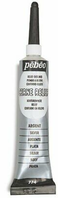 Pebeo Vitrail Outliner/Cerne Relief Paint 20ml . Choose Your Colour By One
