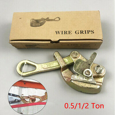 0.5-2 Ton Alloy Steel Multifunctional Cable Wire Rope Haven Puller Grip Non-slip