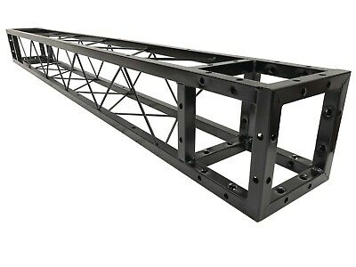 """Cedarslink 2 Meter 6.56 ft. Square 8""""x8"""" Black Trussing Box Truss Section Bolted"""