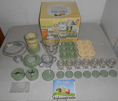 Magic Bullet Baby Food Processor Making Blender System